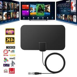 1/2 960 Miles Indoor Digital TV HDTV Antenna  UHF/VHF/1080p