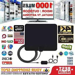 1000 MILE HDTV ANTENNA BEST LONG RANGE LESOOM INDOOR TV DIGI
