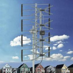 100Mile HDTV 1080P Outdoor Amplified TV Antenna UHF for Digi