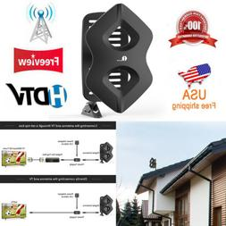 1byone 1080P HD TV Antenna Outdoor Amplified Digital UHF VHF