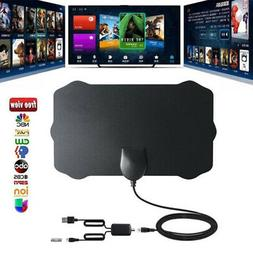 120 Miles Indoor Antenna Digital HDTV TV Antenna with Amplif