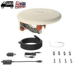150 Miles TV HDTV Antenna Indoor Outdoor Omni-directional 36