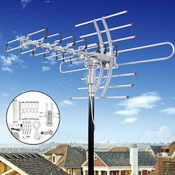 180 Miles HDTV Outdoor Amplified Antenna HD TV Directional U