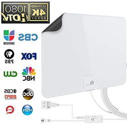 1byone 50 Miles Amplified HDTV Antenna with USB Power Supply