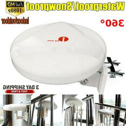 1byone 200 Mile Range HD TV Antenna 1080P Outdoor Amplified