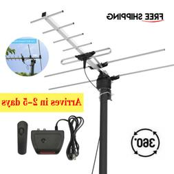 1Byone 200 Miles HD Digital Outdoor TV Antenna For HDTV High