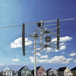 200 Miles Outdoor Digital TV Antenna with Amplifier HDTV 108
