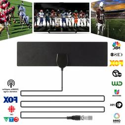 200 Mile Range Antenna TV Digital HD Skylink 4K Antena Digit