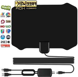 2018 New Indoor HD TV Antenna with Amplifier Amplified Signa