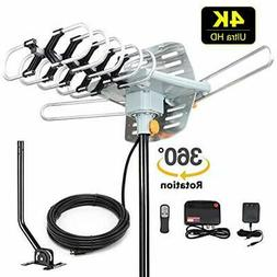2019 Receivers Version HDTV Antenna Amplified Digital Outdoo