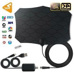240 Miles 1080P Digital HDTV Indoor TV Antenna With Amplifie
