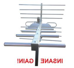 250 Mile Long Range Outdoor Indoor HD TV Antenna