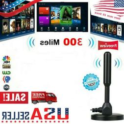300 Mile Range Antenna 4K Antena Digital Indoor HDTV 1080p T