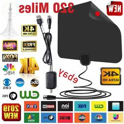 digital indoor tv hdtv vhf uhf fm