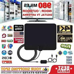 HDTV 1080P DIGITAL INDOOR ANTENNA IMPROVED SEEN ON TV CLEAR