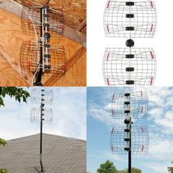 Antennas Direct 4-Element Bowtie TV Antenna, 60 Miles Range,