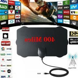 400 Mile Range Antenna TV Digital HD Skywire Antena Digital