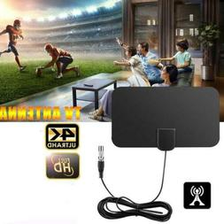 50 Mile Range HDTV Antenna 4K HD Indoor Digital TV Aerial Si