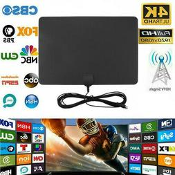 50Mile Range HDTV Antenna 4K HD Indoor Digital TV Aerial Sig