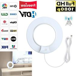 1Byone 80 Miles Digital HDTV Indoor TV Antenna with Signal A