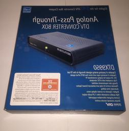 Digital Stream Analog Pass-through DTV Converter Box