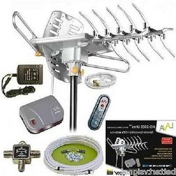 Lava Hd2605 Hdtv Digital Rotor Amplified Outdoor Tv Antenna