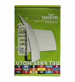 Mohu Curve 50 TV Antenna Indoor Amplified 50 Mile Range Mode