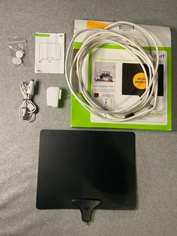 Mohu Leaf 50 Indoor HDTV Antenna, Amplified, 60 Mile Range,