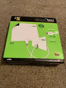 Mohu Leaf Ultimate Amplified Hdtv Antenna Value Pack Multi R