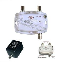 PCT 1-PORT BI-DIRECTIONAL CABLE TV HDTV AMPLIFIER SIGNAL BOO