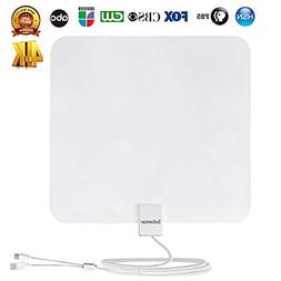 Amplified Digital HDTV Antenna 50-75Miles Reception Range w