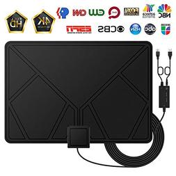 Amplified HD Digital TV Antenna, HDTV Antenna with Detachabl