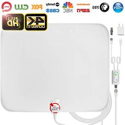 Amplified HD Digital TV Antenna Long 65-85 Miles Range –