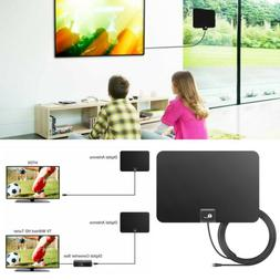1byone Antenna HDTV 1080P 4K HD Thin Indoor TV Signal Sky Di