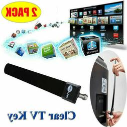 2*Clear TV Key HDTV Free TV Stick Satellite Indoor Digital A