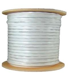 COAXIAL WHITE CABLE RG6 1000FT COAX CATV RG-6 1000' TV BULK