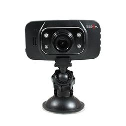 AXESS DC4207 HD 1080p Video Recording Dash Cam/DVR with Buil