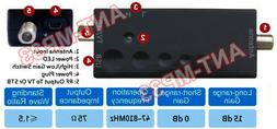 Premium HD TV Signal Amplifier With 15 dB Gain And Ultra Low