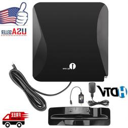 Digital Indoor HDTV Antenna Freeview 40 Miles Range High Sig