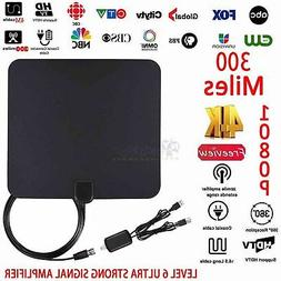 TV ANTENNA TVFOX HD HIGH DEFINITION TVFOX HDTV DTV VHF 300 M