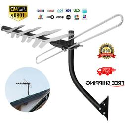 1byone HDTV 1080P Outdoor Amplified Digital Antenna UHF VHF