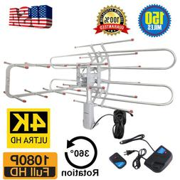 180 Mile HDTV 1080p Outdoor Amplified HD TV Antenna Digital