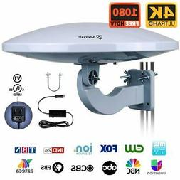 Outdoor HDTV Antenna -Antop Omni-Directional 360 Degree Rece