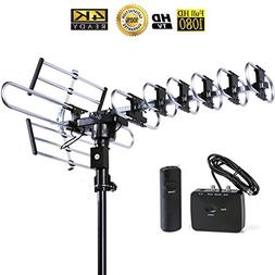 Five Star Outdoor 4K HDTV Antenna Long Range Auto Gain Contr
