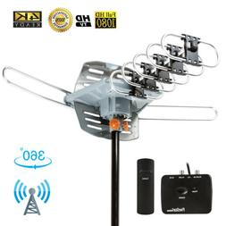 1080P Outdoor Amplified HDTV Digital TV Antenna Long Range H