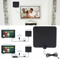 HDTV Flat HD Digital Indoor Amplified TV Antenna with Amplif