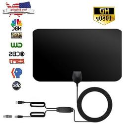 HDTV Free Cable Antenna With Amplifier Signal Booster USA FR