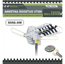 HDTV Outdoor Amplified Antenna 150 Mile 360° With Wireless