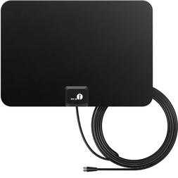 High Gain Freeview HD Digital TV Antenna Indoor Portable HDT