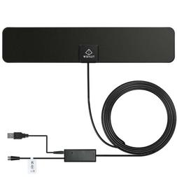 TILVIEW Indoor HDTV Antenna Built-in Amplifier Signal Booste